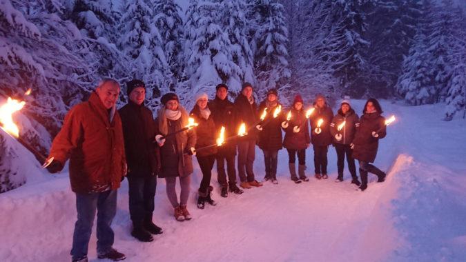 Fackelwanderung & Winterzaubermenü WZ3