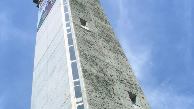 Zäpfle Turm Klettern