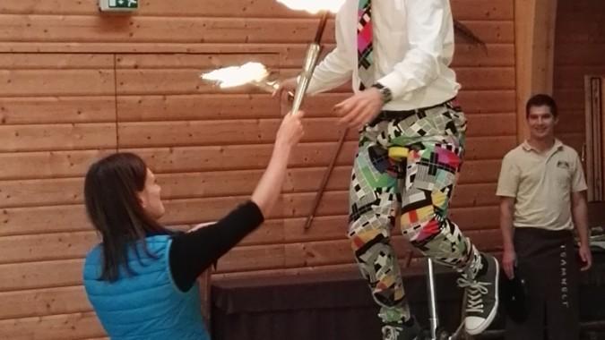tolle Jonglage und Comedy-Show mit Peter Jagusch in der Eventlocation im Schwarzwald