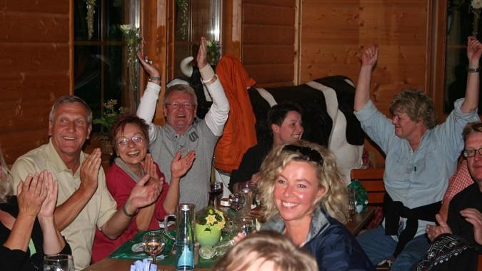 Hüttenabend in der Schwarzwald-Scheune