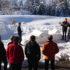 Winter Teamwelt-Challenge im Schnee bei Betriebsausflügen im Schwarzwald