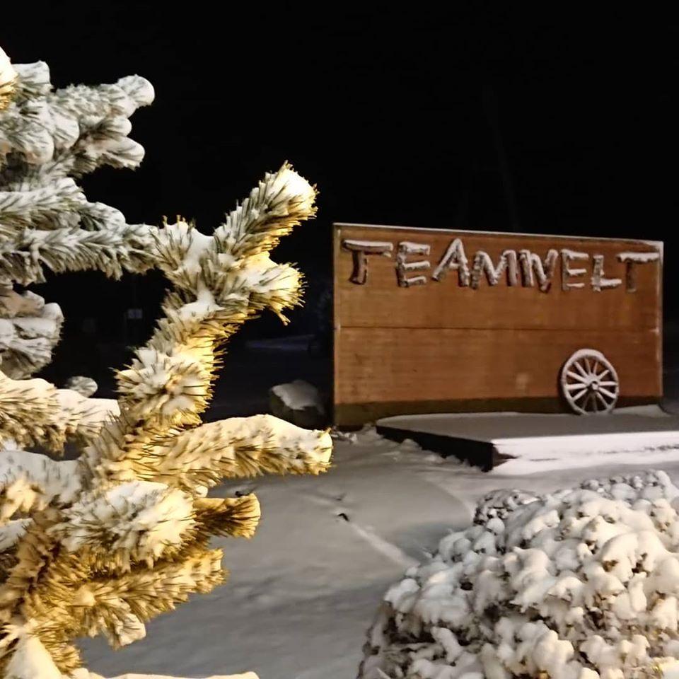 Schnee für die Winter-Teamevents