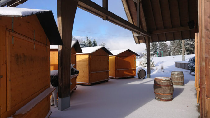 Winter-Teamevent Budenzauber