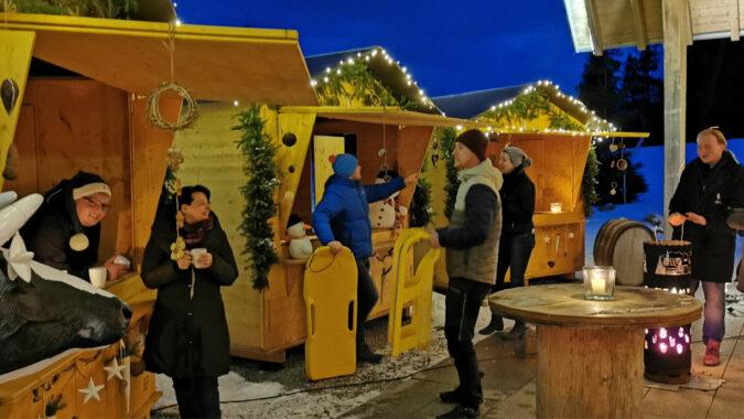 Winter-Budenzauber, der Wintermarkt-Spezial in der Corona-Zeit WZ7