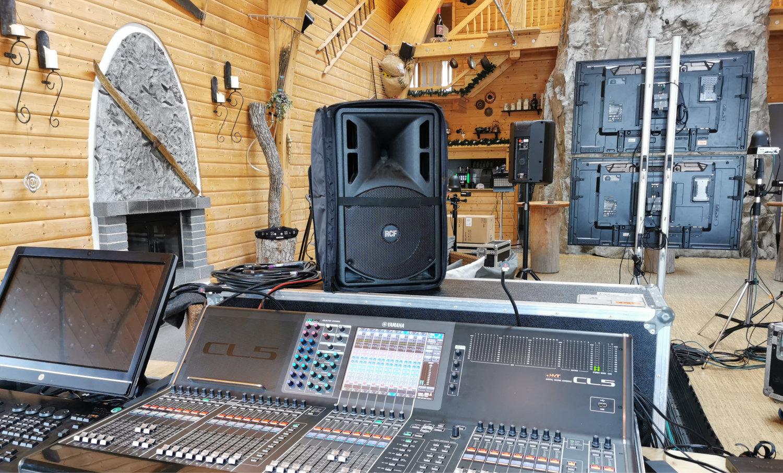 Hybride Eventformate, Location wird zum Studio